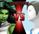 She-Hulk VS Wii Fit Trainer
