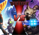 Ratchet and Clank VS Rocket and Groot