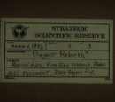 Strategic Scientific Reserve Projects