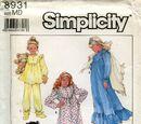 Simplicity 8931 B