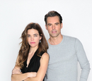 Billy Abbott and Victoria Newman