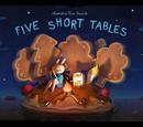 Cinco Mesas Pequeñas
