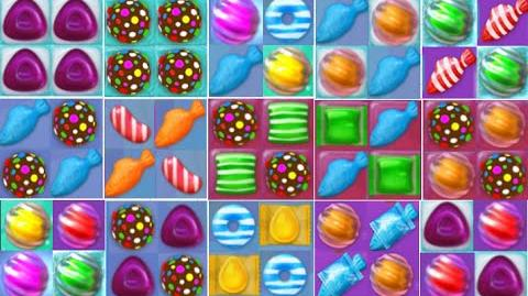 Candy Crush Jelly Saga Special All Combos!