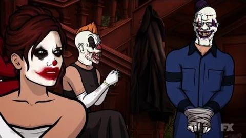 Why Is Everyone Clowns? Season 7 Episode 6 Scene Archer