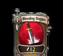 Bleeding Dagger