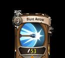 Blunt Arrow