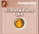 Cracked Flame Orb