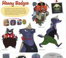 Honey Badger/Gallery