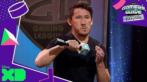 Gamer's Guide to Pretty Much Everything Host Markiplier! Official Disney XD UK-0