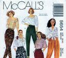 McCall's 5654 B