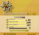 Multi-shurikens