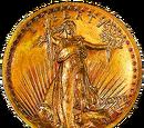 1907 Saint-Gaudens High-Relief Coin