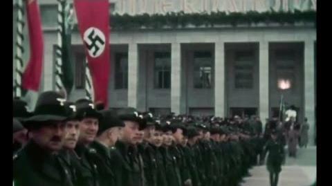 Brilliant 1937 Color Footage Of Life In Berlin