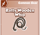 Ratty Wooden Whip