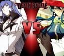 Esdeath vs Ayaka Kagari