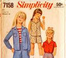 Simplicity 7158 B