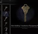 Main Building 1 Auditorium Passageway Key