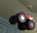 Monster Truck Flower Delivery