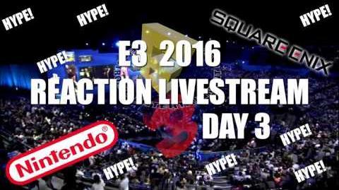 E3 Livestream Day 3