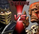 Scorpion VS Dhalsim