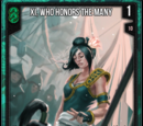 Xi, Who Honors The Many