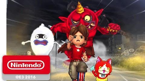 Meta dragon/Nuevo tráiler de Yo-Kai Watch 2 en la E3 2016