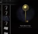Piano Bench Key