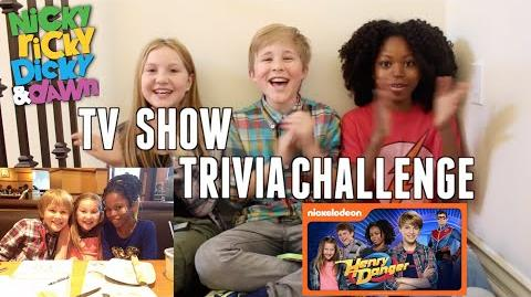 TV Show Trivia Challenge Ft. Ella Anderson and Riele Downs from Henry Danger!