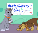 Pup's first Father's day