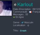 Karlout/Profil de Karlout