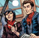 Cindy Moon (Jessica Drew) (Earth-616) and Peter Parker (Tony Richards) (Earth-616) from Amazing Spider-Man & Silk- The Spider(fly) Effect Infinite Comic Vol 1 4 001.jpg