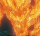 Liberação de Fogo: Projétil de Chama do Dragão de Fogo