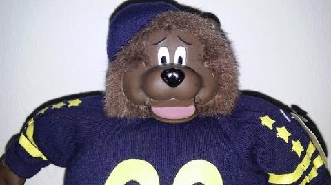 Gemmy Champ Sports Bear