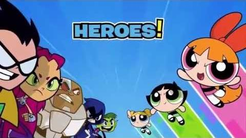 Cartoon Network - Teen Titans Go VS. The Powerpuff Girls Promo (30s)