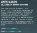 Red Lion (Legendary Defender)/Gallery