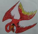 Long-Necked Firebird