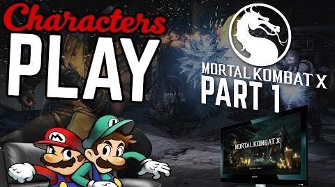 Characters Play Mortal Kombat X Ft. Mario & Luigi