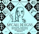 Complete Catalogue of McCall Designs July 1930