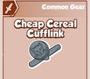 Cheap Cereal Cufflink