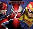 Captain Falcon vs Captain Britain