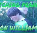 ITCHING PRANK ON WILLIAM!!!