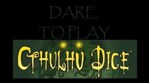 Dare to Play- Cthulhu Dice