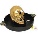 Skull on platter