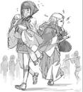 Sketch of Sakura and Hana.png
