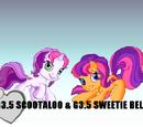 G3.5 Scootaloo & G3.5 Sweetie Belle