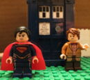 LEGO Superman - The TARDIS