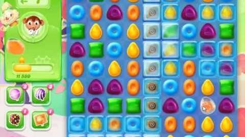 Candy Crush Jelly Saga Level 376 - NO BOOSTERS