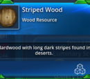 Striped Wood
