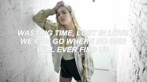 Halsey- Wasting Time Lyrics New Leaked Song
