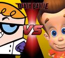 Dexter VS Jimmy Neutron